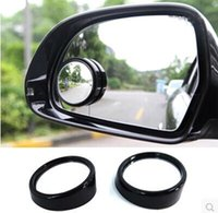 Wholesale Hot Sale Universal Car small round mirror blind spot wide angle lens secondary mirror mirror reversing anti dead