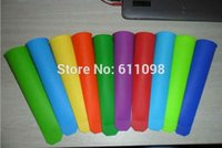 Cheap Wholesale Silicone Push Up Ice Cream ice Lolly Pop Maker Popsicle Mould Mold factory price 300pcs free shippingmn2