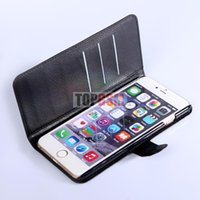 iphone 5 flip case - Luxury PU Flip Wallet Leather case for iPhone Plus Case Cover With Credit Card Holder color iPhone S Note N7100 iPhone Free Ship