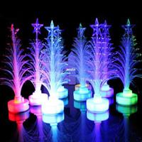 Cheap Sales Pop Mini USB Mutil Color Changing Christmas Tree LED Light X'mas Tree Lamp #B591