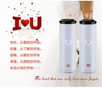 Wholesale 2015 The best gift for Wedding Christmas and so on Cool Design Touch Temperature Cup Heat Cup