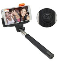 Wholesale DHL Free Hot Selling in Selfie Stick Bluetooth Monopod For Iphone IOS and Android Smartphone
