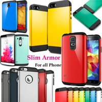Cheap armor case for iPhone 5S Best Slim armor Case for iPhone 6