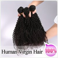 curly human hair extensions - 3PCS Hair Bundles Weaves Unprocessed Brazilian Peruvian Malaysian Virgin Hair No Sheding No Tangle Soft Curly Human Hair Extension