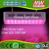 Wholesale 100pcs Cree W LED W Band Full Spectrum LED Grow Lights Red Blue White UV IR Led Plant Growing Lighting Lamps AC85 V