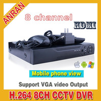 Wholesale H CH Mobile Recorder Mobile phone view PTZ Video Security Network DVR for Surveillance System
