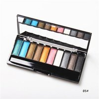 applying eyeshadow makeup - 2015 Hot Cosmetics Make Up Eye Shadow Palette Color in set Eyeshadow Color Assortments Fine Eye Powder with Makeup Brush Easy To Apply
