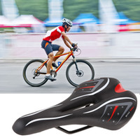 bicycle saddle lock - seat belt lock cover Cycling Mountain Bicycle Road Bike Soft Comfort Cushion Pad Saddle Seat H1E1