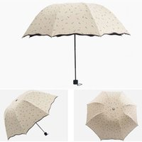 anchor shade - 20pcs Portable Arched Design Folding Umbrellas Foldable Anchor Style Parasols Women s Summer Outfits H208