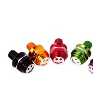 Wholesale Bicycle electric car scooter motorcycle accessories modified rearview mirror small colored smiley screws