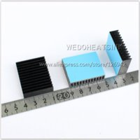 aquarium pad - x40x11mm Amplifier Peltier Cooler Aquarium light Extruded Aluminum Heat Sink Cooling With Adhesive Pad