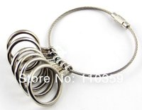 Wholesale ES039 US finger gauge ring size measuring finger sizes sizer metal jewelry making
