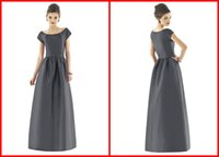 Wholesale 2014 Fashion New Arrival Bridesmaid Dress Professional Factory Wedding Dress Back Zipper Hot Sale Prom Dress Scoop Cocktail Dress Stain