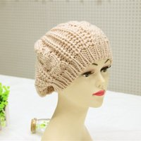 bailey caps - Hot Korean lady Bailey knitting wool hat winter hats one generation A