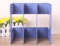 Wholesale Desktop storage frame file frame size bookend frame magazine rack creative Bookends bookend Book Stationery