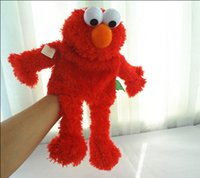 Wholesale Lovely Sesame Street RED cookie monster Whole body Hand Puppets stuffed kid s gifts