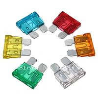 Wholesale New Medium sized Car Auto Truck Blade Fuse A A A A A A AMP Mixed