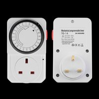 Wholesale All day Mechanical Electrical Plug Program Timer Power Switch Hour Energy Saver New product Promotion