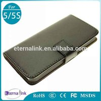 Wholesale Belt Clip Real Leather Wallet Case Cover for iPhone S Genuine Cow Skin Leather