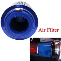 Wholesale Universal Auto Vehicle Car Air Filter Cold Air Intake mm Dual Funnel Adapter works for mm Round Tapered