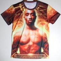 basketball tshirts - Hot Men T Shirt pac Tupac D Printing Tshirts The Hulk High Quality Basketball Player Hip Hop Man T shirt O Neck Short Sleeve