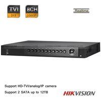 Wholesale HIKVISION CH U Turbo P Full Real time TVR CCTV HD TVI analog IP Hybrid DVR