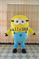 Wholesale 6 styles Despicable me mascot costume for adults mascot costume expression can be customized Birthday party party adult size