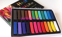 Wholesale Fashion New set Colors Fashion Hot Fast Non toxic Temporary Pastel Hair care Dye Color Chalk