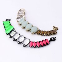 accessorize ring - New Hot Accessorize Jewelry Crystal Resin Zinc Alloy Light Grey Fluorescent Green Bracelet