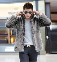 best mink coats - Fall Best selling New winter men warm faux mink coat Thickening Upscale men s overcoats Luxury fashion men s clothing Plus size