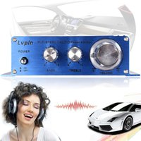 high power car amplifier - TOP High Quality Newest W W CH V Small Stereo High Power Amplifier for CD MP3 Car Audio Home