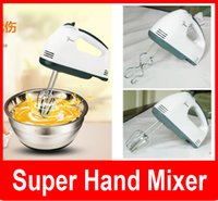 beat mixers - New super hand mixer Still moving authentic special mini power hand held electric mixer beat eggs household Whisk