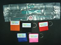 Wholesale CPR MASK face mask Face shield one way valve with keyring First aid training