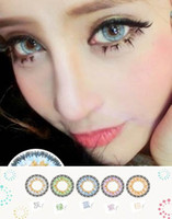 Wholesale Newest hybrids Elves tone Diameter mm color contact lens good quality and low price big size contact lenses contact lens