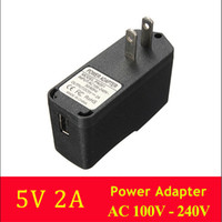 Wholesale High Quality A V W usb power adapter charger for tornado mars paladin tablet pc US plug adapters black Switching