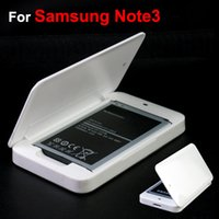 Cheap For Galaxy Note 3 Battery Charging Case Box For Note3 N9000 Battery Dock Power Charger Box High Quality