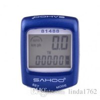 Wholesale 14 function wired and waterproof stop watch is blue white