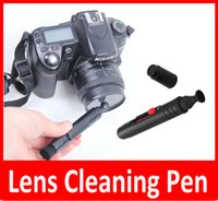 Wholesale 2015 New Lens cleaning Pen kits For Camera Or Vidicon Lens Screen Cleaning in1 Lens Pen