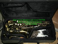 Wholesale new style Bronze Alto saxophone with case