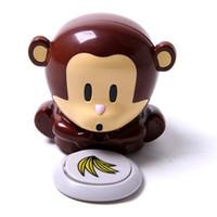 Wholesale Mini Cute Monkey Blower Nail Polish Dryer Beauty Care
