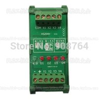 Wholesale 2016 The New Hot Selling High speed channel PNP to NPN signal converter PLC to drive servo driver MHZ response rate High Quality