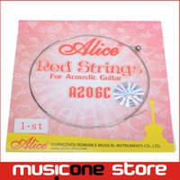 Wholesale Alice Red String for Acoustic Guitar A206C st Guitar Strings MU0248
