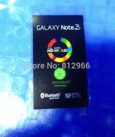 Cheap 100pcs lot For Samsung Galaxy note 3 N9000 N9005 N9002 N9006 N9008 N900 new phone refurbish front screeen protector sticker film