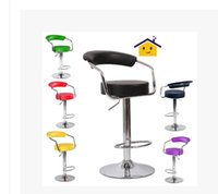 Wholesale Fashion bar chairs Simple chair Front desk european style bar chair Lift rotating bar stool