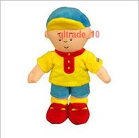 Wholesale 200 TOPB5341 cm caillou rosie plush Toys caillou rosie Stuffed Animal Soft Dolls animation cartoon Plush toy dolls kids Christmas Gifts