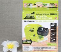 Wholesale NEW Swifty Sharp Motorized Cordless Knife Sharpener Precision Power Sharpener is so good