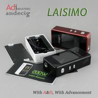 Wholesale Authentic Laisimo L1 W TC Box Mod vs smok hpriv w koopor primus w limitless lmc ipv400 ipv6x sigelei wismec Reuleax RX75