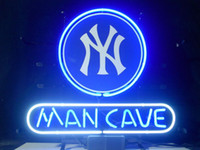 beer new york - New York Yankees Man Cave Glass Neon Sign Light Beer Bar Pub Arts Crafts Gifts Lighting Size quot