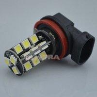 Wholesale Holiday Sale H11 LED Auto Car Lights Version V DC degree three core SMD LED SMD car fog lights