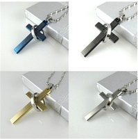bible man - 2015 cute Titanium stainless steel bible cross Pendant Necklaces for Men women necklace Fashion Jewelry christmas gift good quality